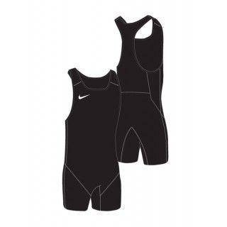 MENS WEIGHTLIFTING SINGLET BLACK