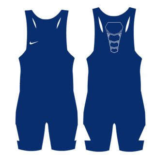 NIKE GRAPPLER ELITE SINGLET BLUE