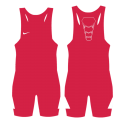 NIKE GRAPPLER ELITE SINGLET RED