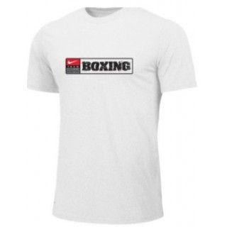 NIKE BOXING TRAINING TEE WHITE BX07