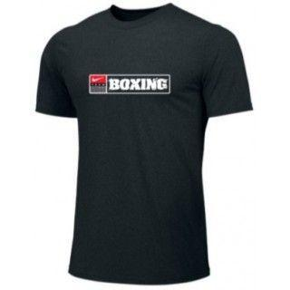 NIKE BOXING TRAINING TEE BLACK BX06