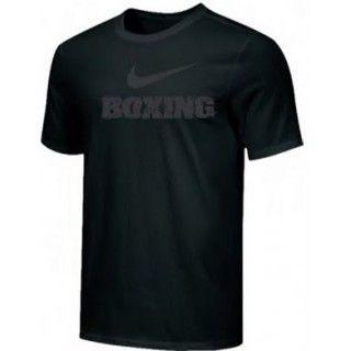NIKE BOXING TRAINING TEE BLACK BX04