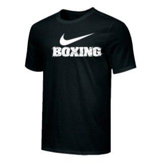 NIKE BOXING TRAINING TEE BLACK BX02