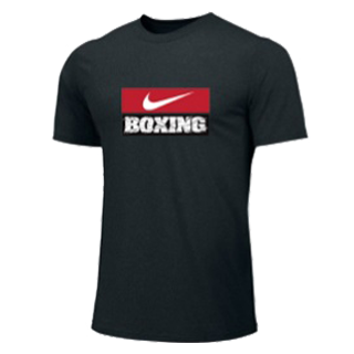 NIKE BOXING TRAINING TEE BLACK BX03