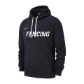 NIKE FENCING TRAINING HOODIE BLACK FE02