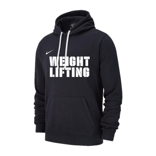 NIKE WEIGHTLIFTING TRAINING HOODIE BLACK WL02