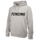 NIKE FENCING TRAINING HOODIE GREY FE02