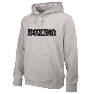 NIKE BOXING TRAINING HOODIE GREY BX02