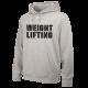 NIKE WEIGHTLIFTING TRAINING HOODIE GREY WL02 Nike - 1